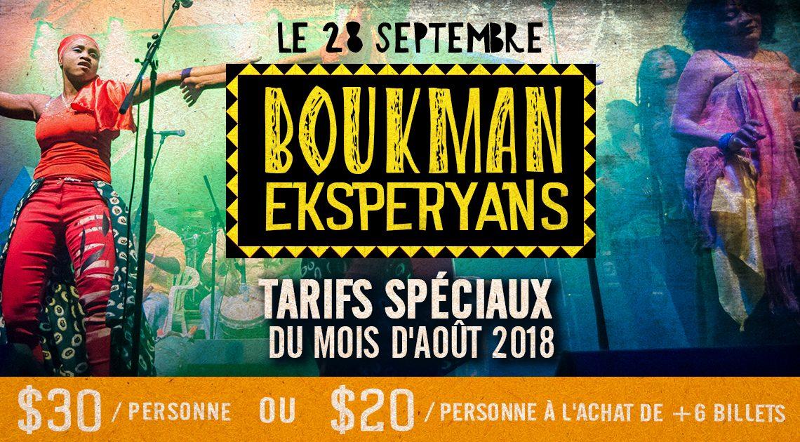 Boukman Eksperyans, musique africaine, francophonie en fete